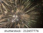 fireworks at rapallo  genoa ... | Shutterstock . vector #212657776