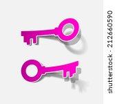 key icon | Shutterstock .eps vector #212660590