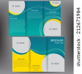 vector brochure business... | Shutterstock .eps vector #212671984