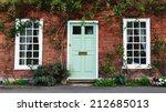 exterior and front door of a... | Shutterstock . vector #212685013