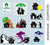 set of vector icons with... | Shutterstock .eps vector #212692150