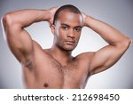 confident and muscular. young... | Shutterstock . vector #212698450