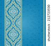 vector seamless border in... | Shutterstock .eps vector #212723530