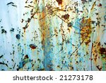 aging paint on background of... | Shutterstock . vector #21273178