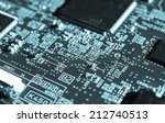 detail of an electronic printed ...   Shutterstock . vector #212740513