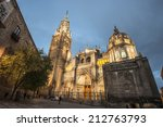 Cathedral Of Toledo  Spain