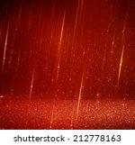 Glitter Red Lights Background....