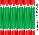 knitted texture. seamlessly.... | Shutterstock .eps vector #212783878