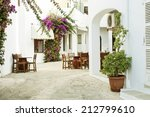 Rustic Terrace On A...