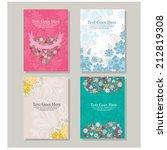 wedding invitation | Shutterstock .eps vector #212819308