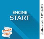 start engine sign icon. power...   Shutterstock . vector #212842849