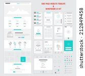 fllat responsive one page...