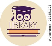 library icon | Shutterstock . vector #212851123