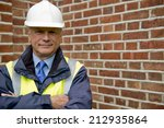 construction worker   buildings ... | Shutterstock . vector #212935864