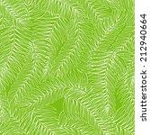 beautiful summer seamless green ... | Shutterstock .eps vector #212940664