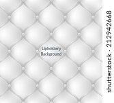 white leather upholstery... | Shutterstock .eps vector #212942668