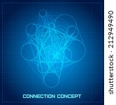 connection business concept....