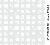 white geometric plaid pattern... | Shutterstock .eps vector #212959666