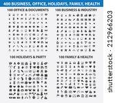 400 business  travel  media ... | Shutterstock .eps vector #212966203