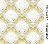 White Geometric Texture In Art...
