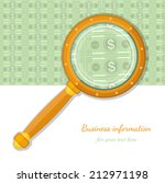 flat concept business icon bank ... | Shutterstock .eps vector #212971198
