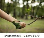 Environment Concept. Handshake...