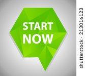 beautiful start web icon | Shutterstock . vector #213016123