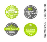 organic  natural and eco food... | Shutterstock .eps vector #213020320