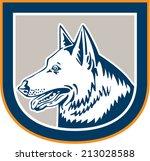 illustration of a german... | Shutterstock . vector #213028588