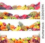 fresh fruit | Shutterstock . vector #213043594