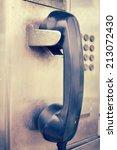 Public Phone Vintage Style