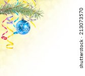 holiday christmas background | Shutterstock . vector #213073570