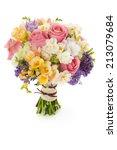 Pastel Colors Wedding Bouquet...