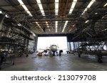 Inside Aerospace Hangar
