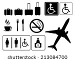 travel icons  vector eps.10 | Shutterstock .eps vector #213084700