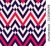 seamless geometric chevron... | Shutterstock .eps vector #213089698