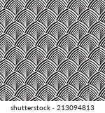 abstract seamless geometric... | Shutterstock .eps vector #213094813