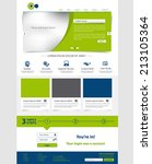 corporate website template....