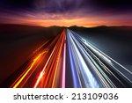 Fast Moving Traffic Light...