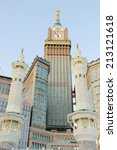 Minarets In Makkah Holy Mosque
