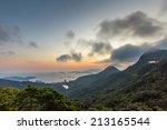 Victoria Peak In Hong Kong At...