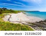 Overlooking Pendower Beach On...