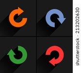 4 arrow icon refresh  rotation  ...
