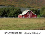 Rustic Red Barn In Rural Utah ...