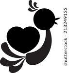 vector pet icon  | Shutterstock .eps vector #213249133