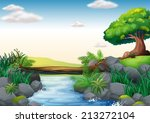 Illustration Of A Scene Of A...