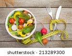 Fresh Healthy Salad And...