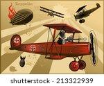 Vintage World War Biplanes And...