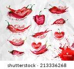 pepper. vector format | Shutterstock .eps vector #213336268