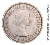 Small photo of Two Shilling Coin